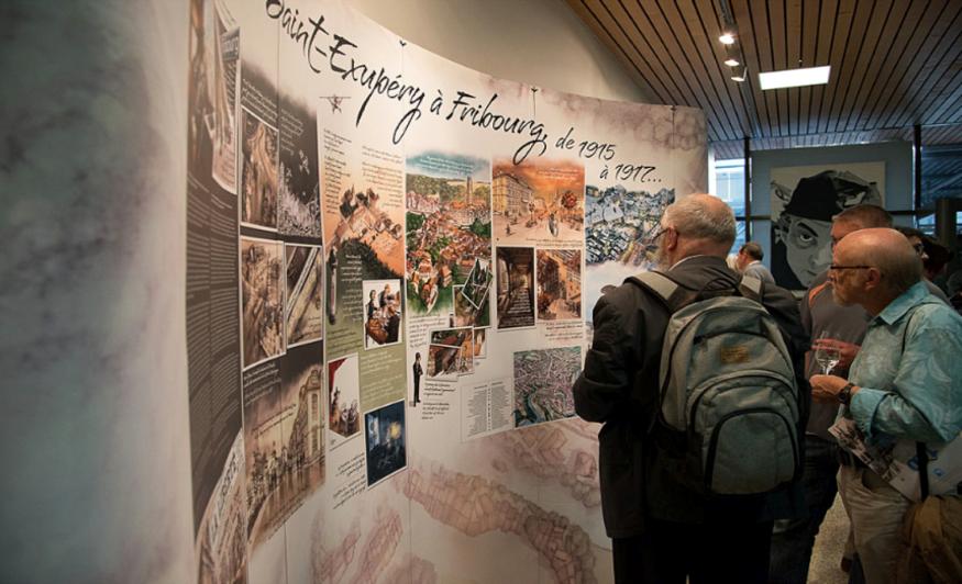 Exposition St-Exupéry à Fribourg