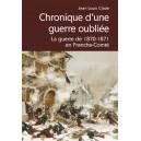 CHRONIQUE D'UNE GUERRE OUBLIEE